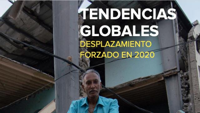 Informe Tendencias Globales  de UN HCR ACNUR - Desplazamientos globales en 2020