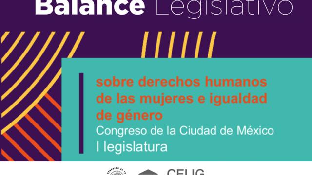 Balance legislativo sobre Derechos Humanos de las mujeres e igualdad de género - CELIG